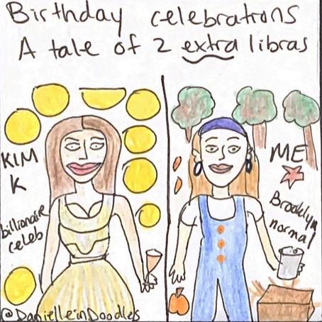 How my birthday party compared to Kim Kardashian's private island getaway