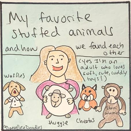My favorite stuffed animals