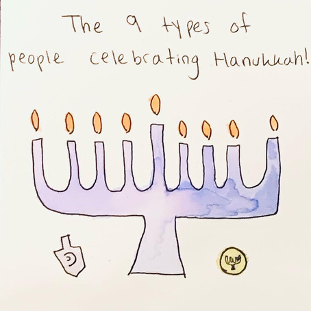 9 types of people celebrating Hanukkah