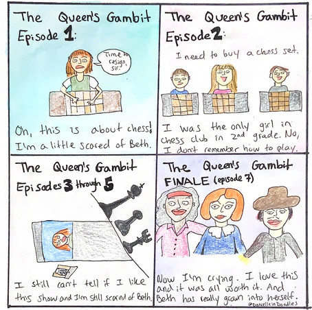 """""""The Queen's Gambit"""" is like chess - challenging but rewarding at the end"""