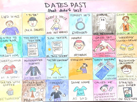 20 reasons I didn't get past the first date