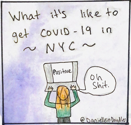 What it's like to get COVID-19 in NYC