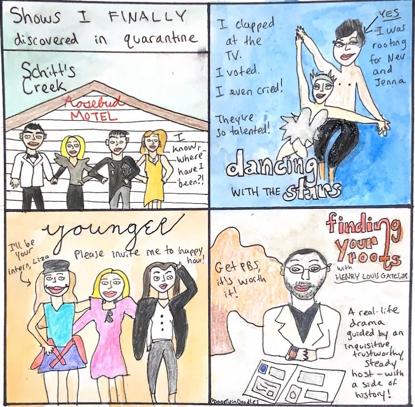 Four shows I discovered in quarantine