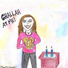 Maura makes challah