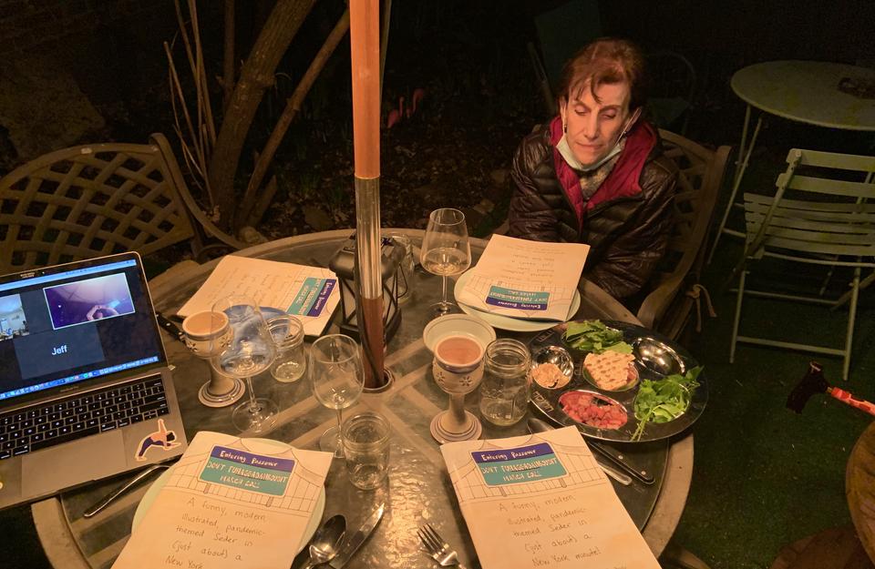 Danielle's family Seder
