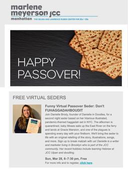 JCC Passover Newsletter