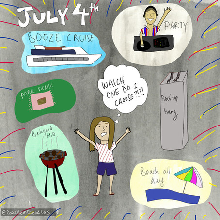 FOMO on July 4th is back — I need to have an amazing celebration to make up for lost time
