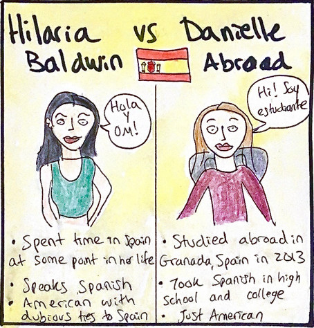 'Spanish' Hilaria Baldwin versus me studying abroad in Spain