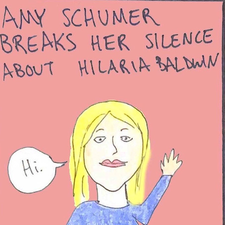 Amy Schumer breaks her silence about Hilaria Baldwin