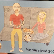 Couples' New Year's Card