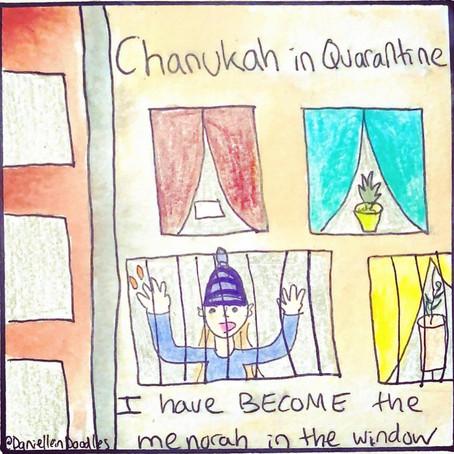 This Hanukah, I feel like a menorah in the window