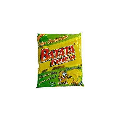 BATATA CHIPS 30G BATATA FEITA SALSA E CEBOLA