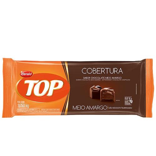 COBERTURA CHOCOLATE MEIO AMARGO 1,05KG HRALD