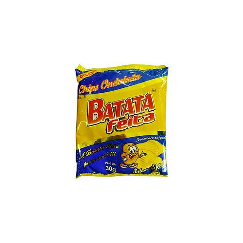 BATATA CHIPS 30G BATATA FEITA NATURAL