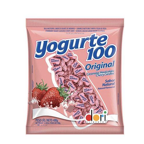 BALA DE YOGURTE 100 400G DORI