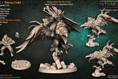 Shadowclaws the Dire Raven