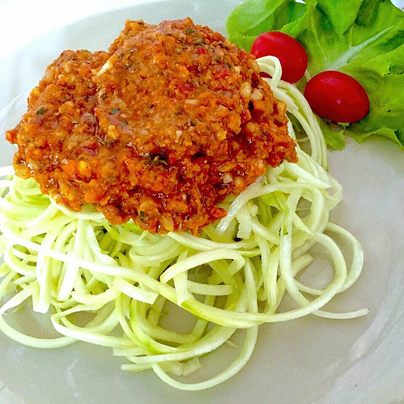 Atsumi Raw Spaghetti Bolognese