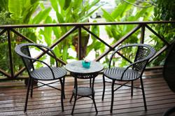 Atsumi villa front porch