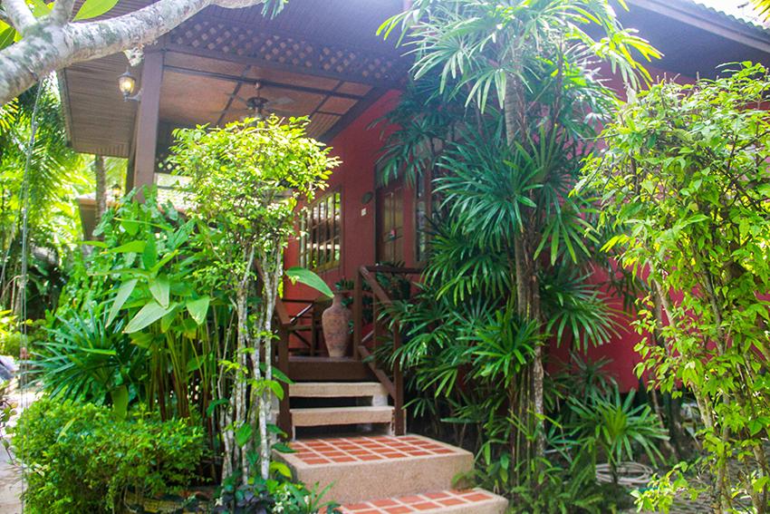 Atsumi villa entrance