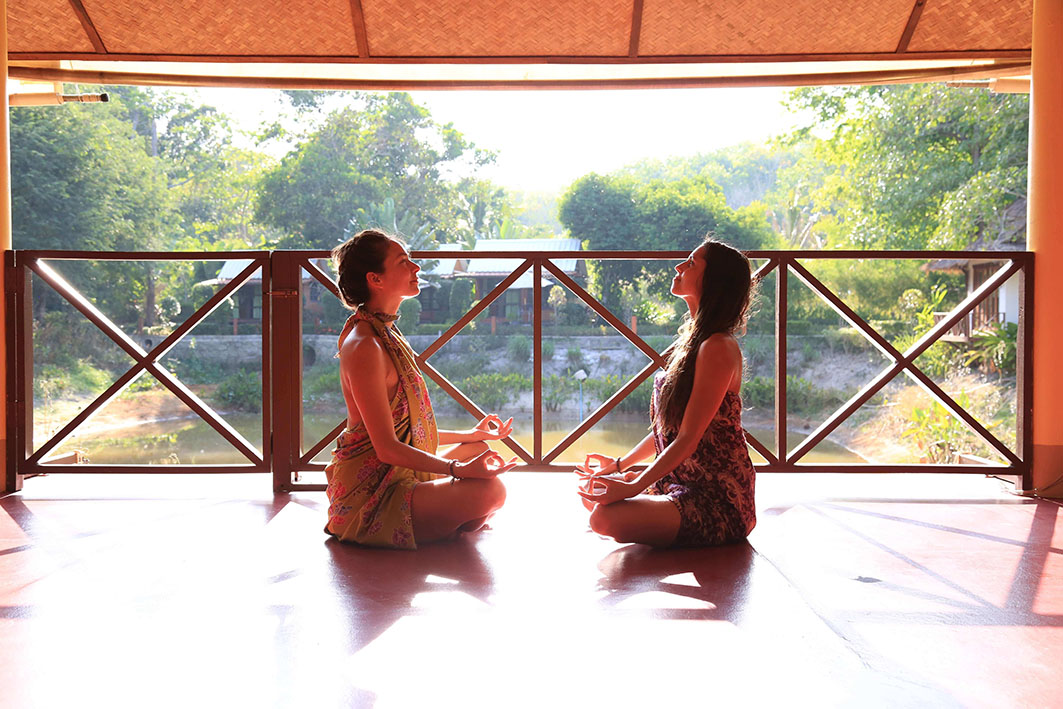 Atsumi Yoga Sala sitting