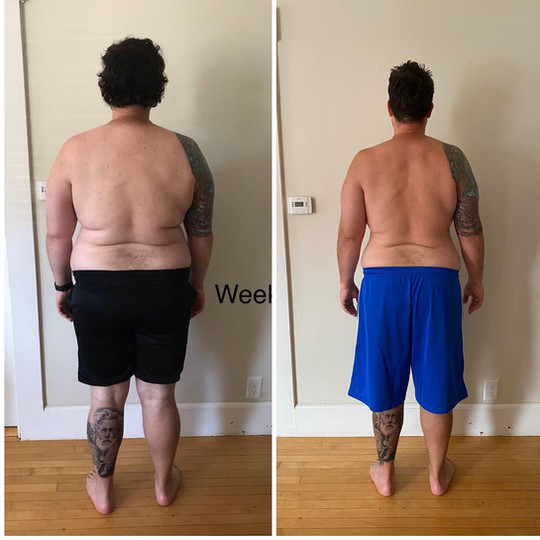 Lost 23 pounds with a Customized Plan.