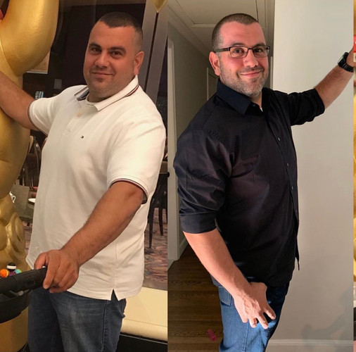 Lost 30 pound wiht a customized plan.