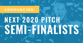 Pitch Companies Announced – NEXT 2020