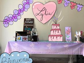 J'organise la baby shower de mon amie : La Petite Sirène