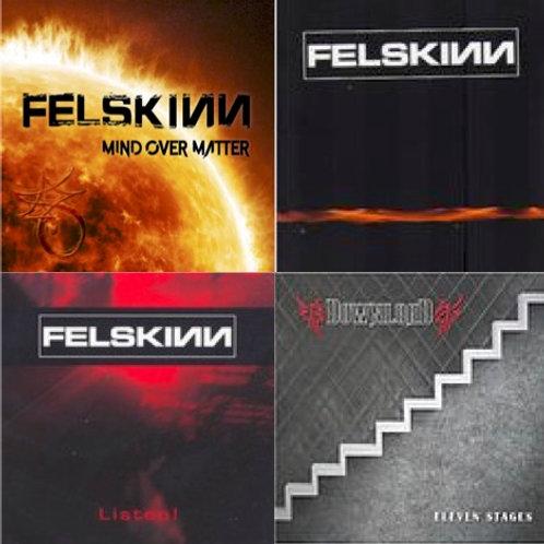 CD Set 3 FELSKINN & 1 DOWNLOAD