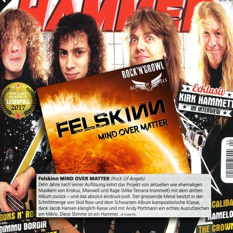 METAL HAMMER Album Review: 6/7 Punkte!!!
