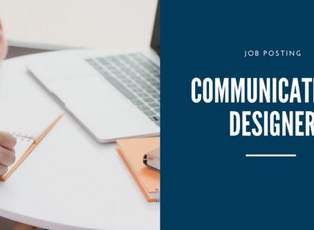 Job Posting: Communication Designer