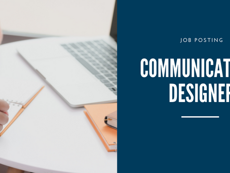 Job Posting: Communication Designer