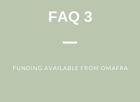 FAQ 3 (f): Funding Available from OMAFRA