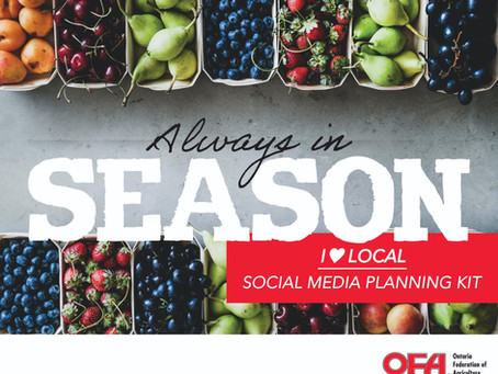 Always in Season Local Food Week Social Media Planning Kit