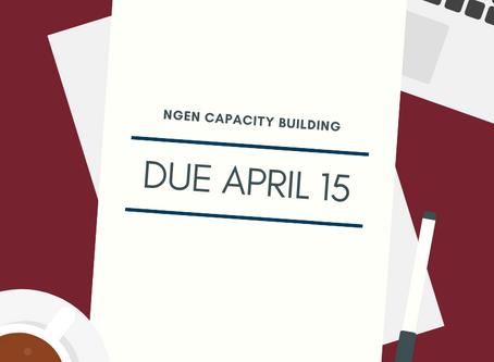 NGen Funding Opportunities