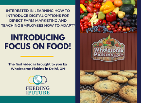 Focus on Food Video Series is Now Live!