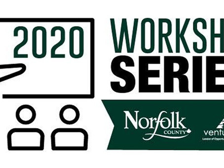 2020 Workshop Series Coming to Norfolk County