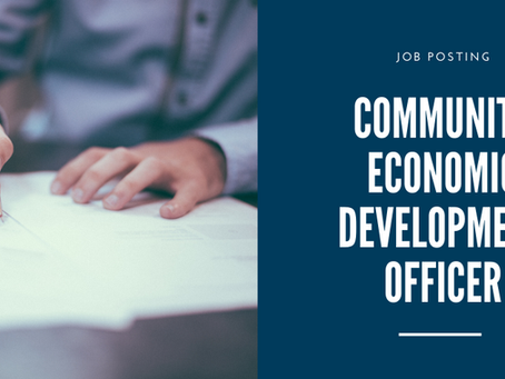 Job Posting: Community Economic Development Officer