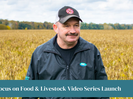 OFA partners with SCOR EDC to launch Focus on Food and Focus on livestock video series