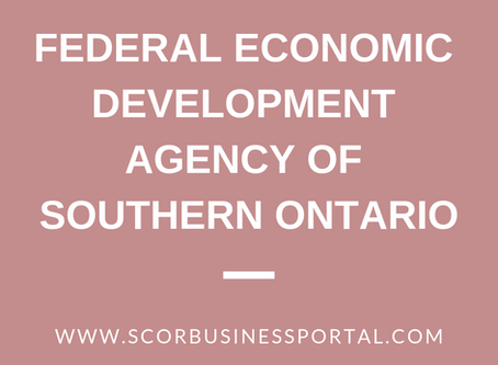 Federal Economic Development Agency for Southern Ontario (FedDev)