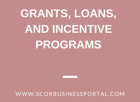 Grants, Loans and Incentive Programs