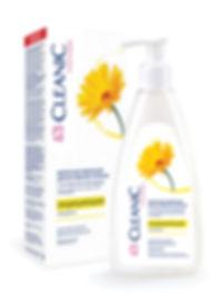 """Молочная эмульсия для интимной гигиены с экстрактом календулы """"CLEANIC"""" Intimate 250 мл"""