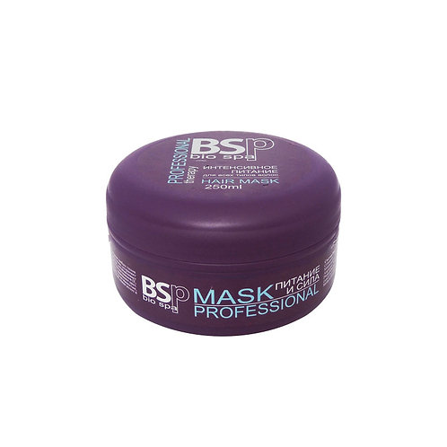 Маска для волос BIOSPA Professional therapy Питание и Сила