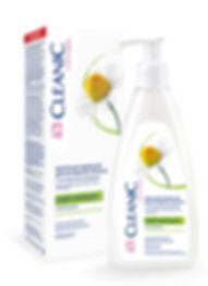 """Молочная эмульсия для интимной гигиены с экстрактом ромашки """"CLEANIC"""" Intimate 250 мл."""