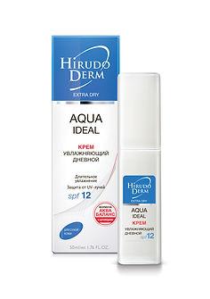 Крем дневной AQUA IDEAL увлажняющий, 50мл HIRUDO DERM