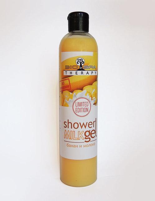 Bio&Spa Milk Гель для душа Банан и молоко