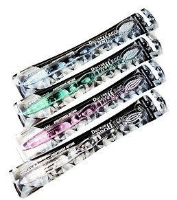 Зубная щетка Eco средней жесткости с серебром, в ассортименте, DOCTOR PROFF