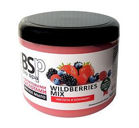 Мягкое мыло для тела и волос WILDBERRIES MIX BIO&SPA 500 мл