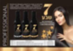 Профессиональная серия по уходу за волосами ТМ 7 Семь, Израиль