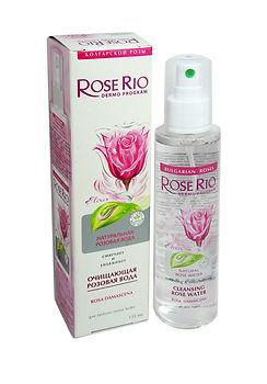 Розовая вода спрей Rose Rio 135 мл, Rose Rio